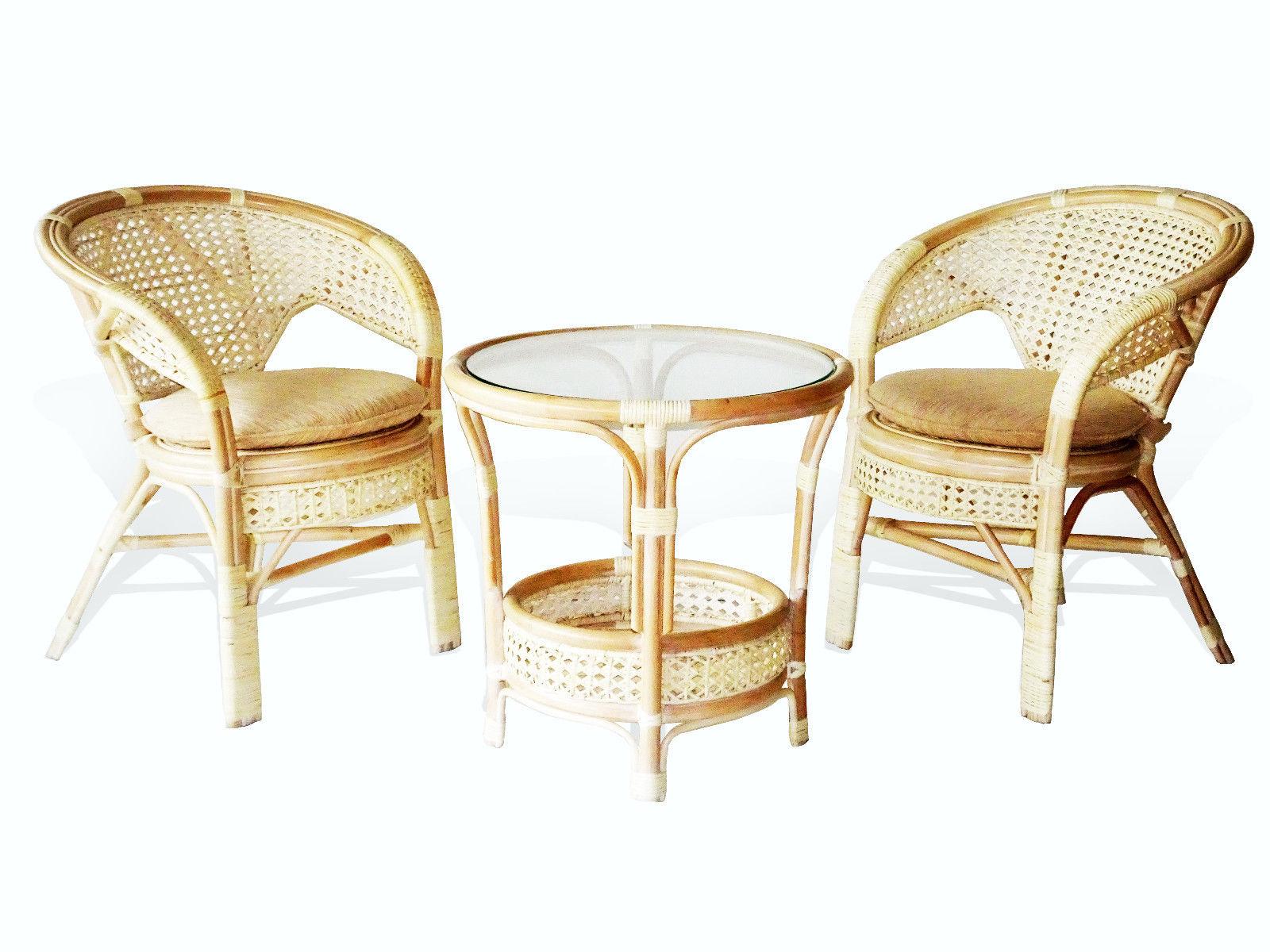 Pelangi round coffee table rattan usa for Rattan coffee table
