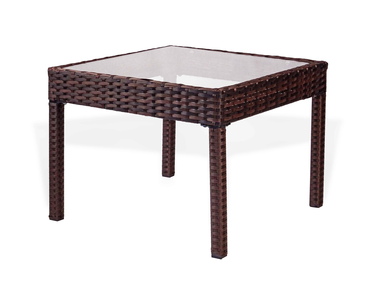 Patio Coffee Table Square Rattan Usa