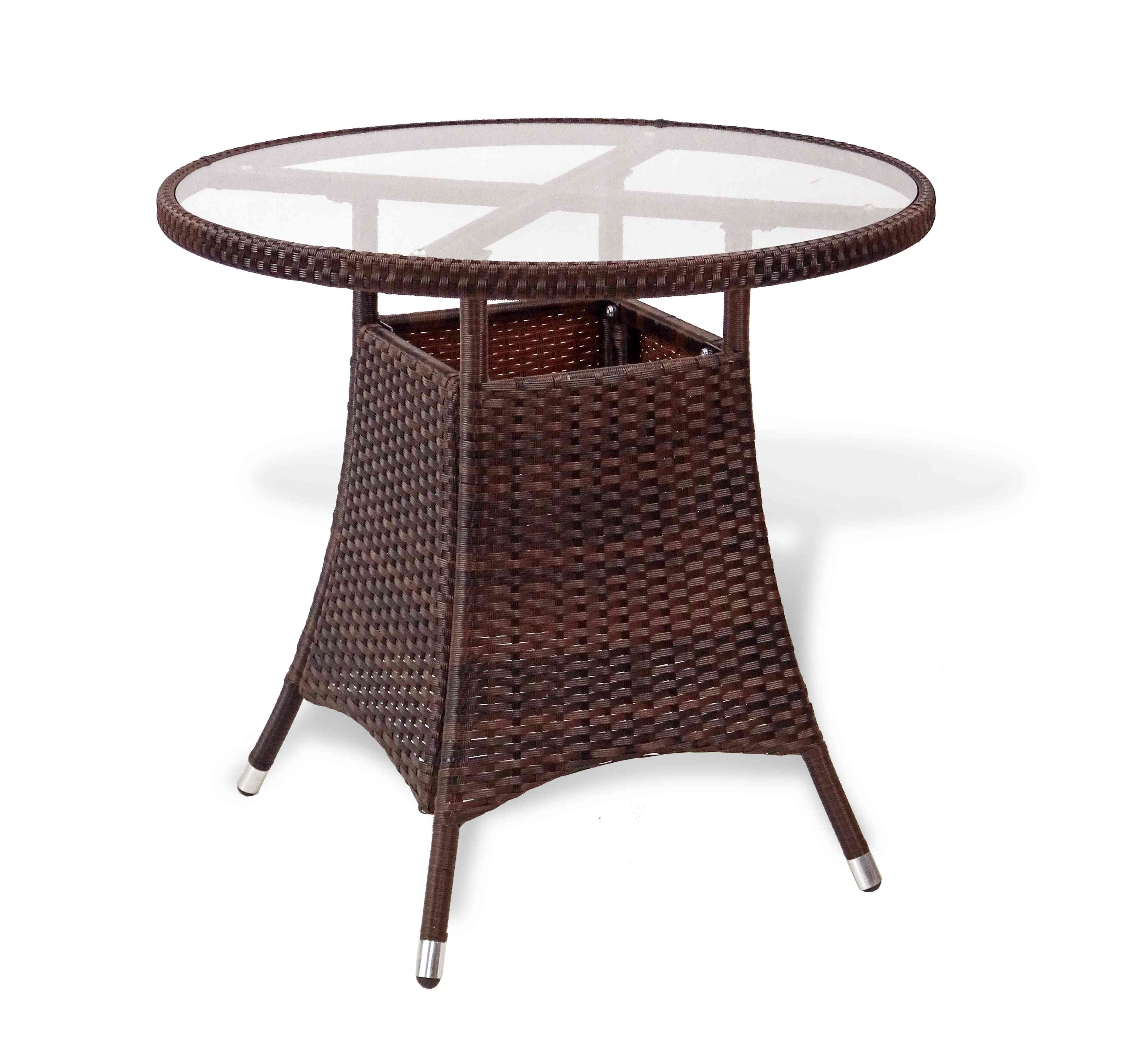 patio 3 pc dinning set round table u0026 side chairs u2013 rattan usa