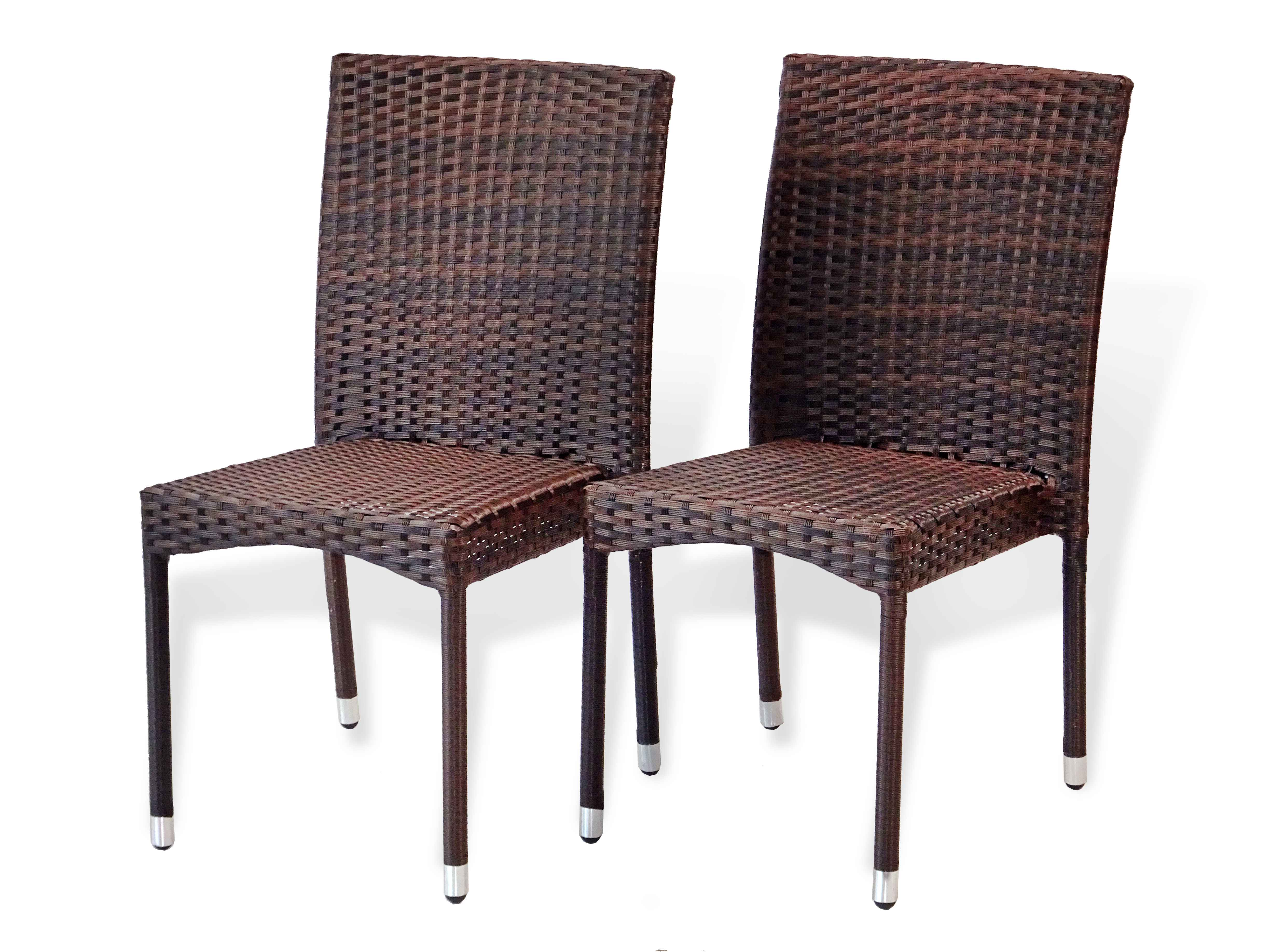 Buy Patio 3 Pc Dinning Set Square Table Amp Side Chairs In