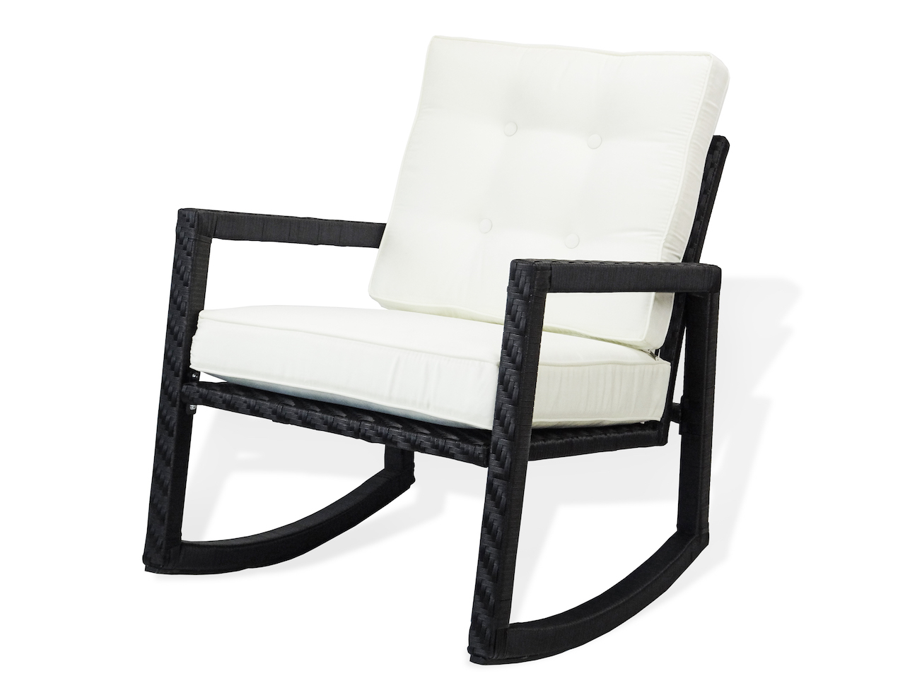 Buy Patio Resin Rocking Chair With Cushion In USA, Best