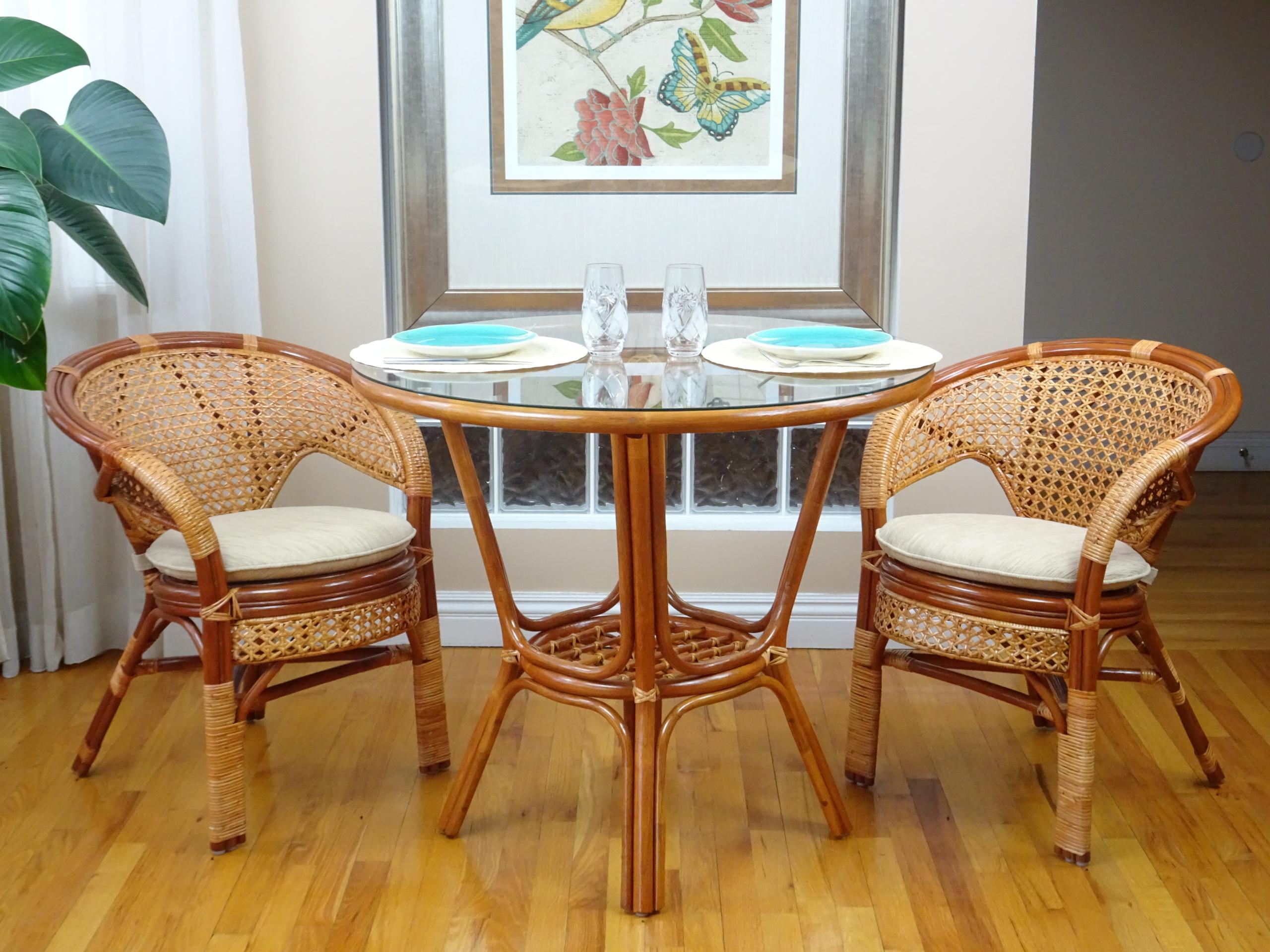 Buy Pelangi 3 Pc Dining Room Set In Usa Best Price Free