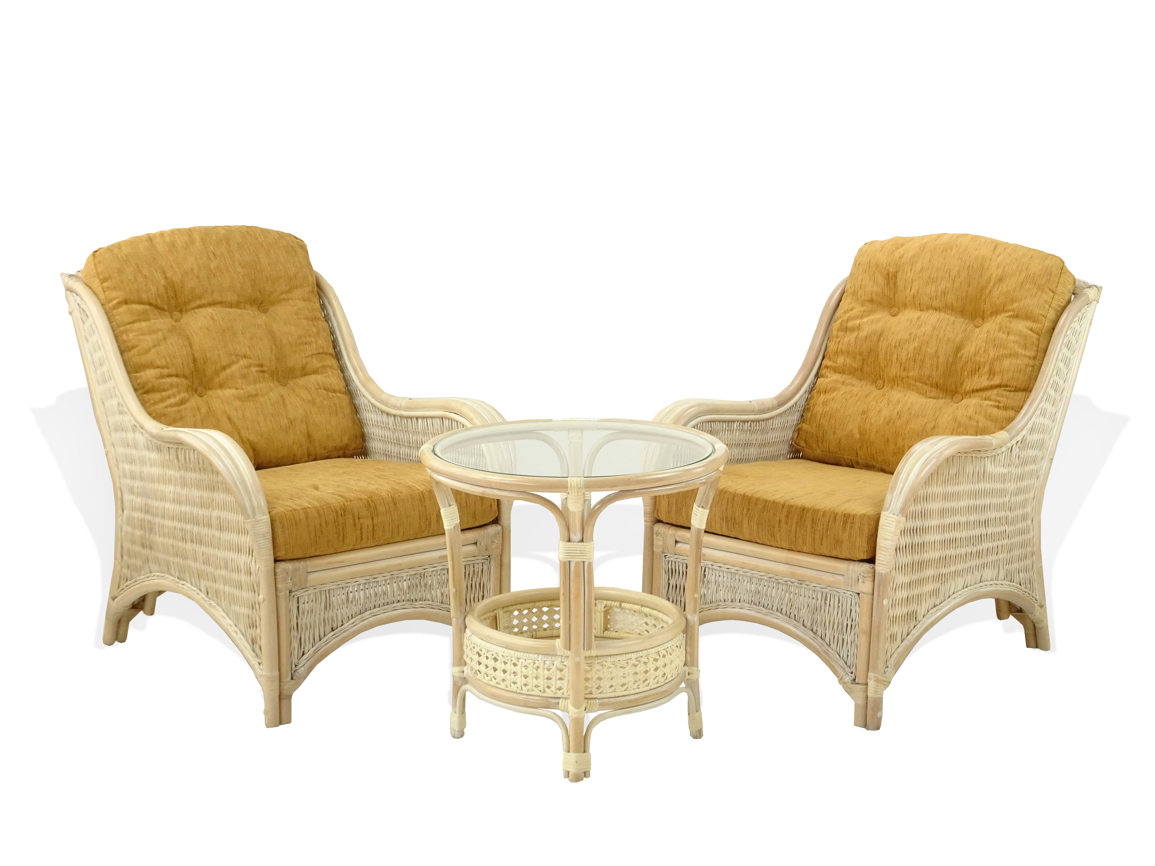 Buy Natural Rattan Wicker Jam Chairs W Light Brown