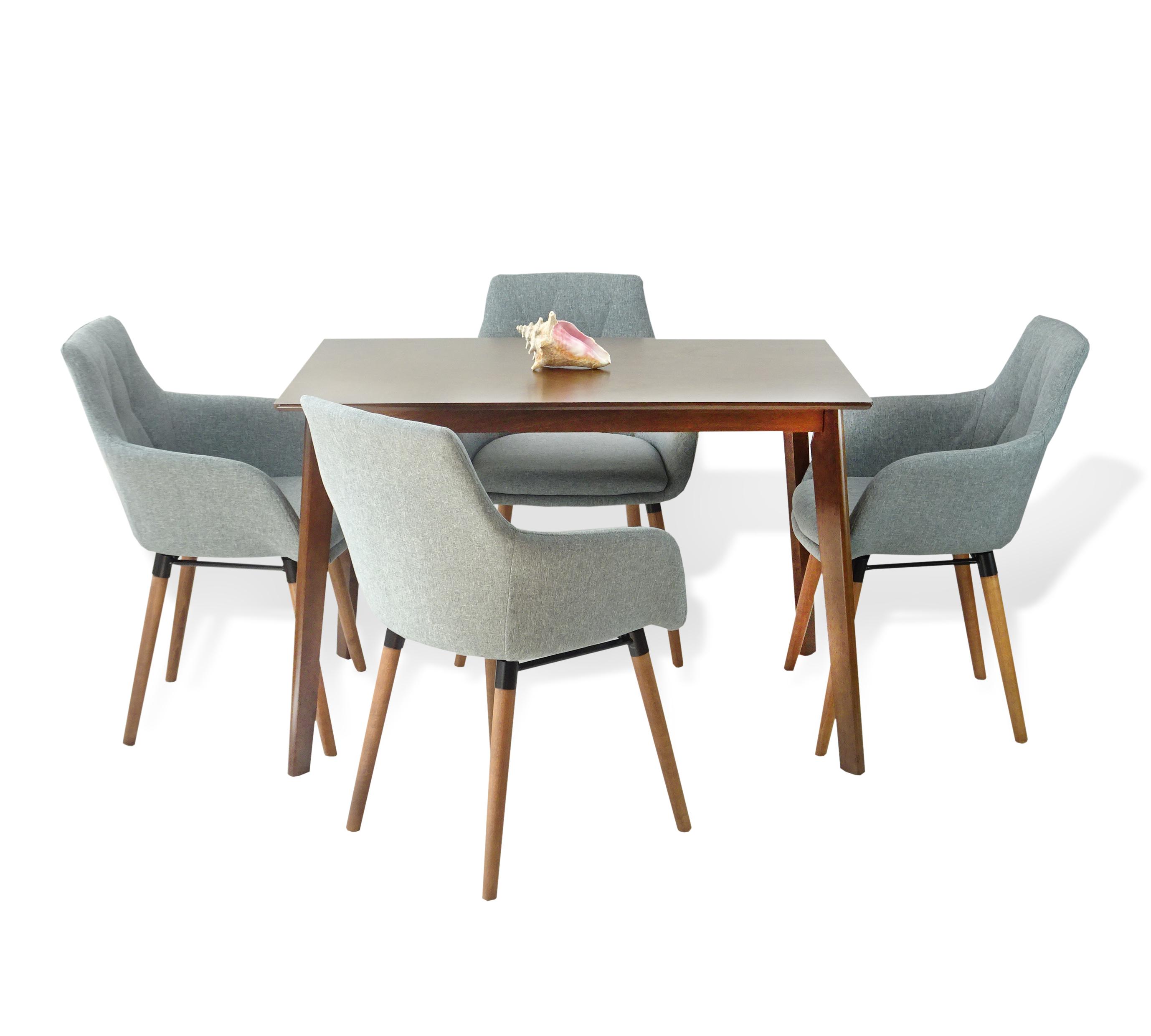 Kitchen Armchairs: Buy Dining Kitchen Modern Alba Armchairs Set Of 4 Wood